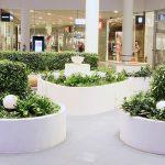 Mirum Galleria, grön byggnad